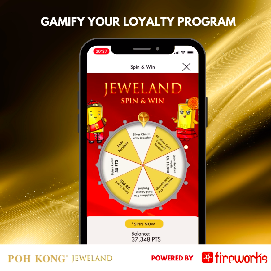 Poh Kong Jeweland - Spin & Win - LoyaltyProgram - LoyaltyProgram, CRM, Gamification